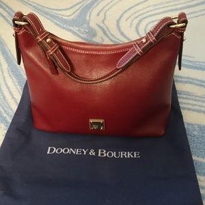 Dooney & Bourke Saffiano Hobo